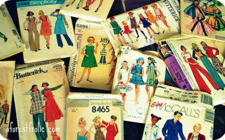 Retro and Vintage Sewing Patterns